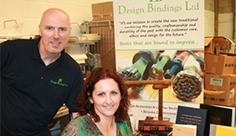 Bookbinders are bound for success with help from mentors