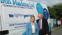 Full steam ahead for Iron Maidens as business mentor helps to smooth a pathway to growth