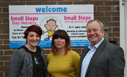 Unique nursery makes giant strides forward with the support of Let's Do Mentoring